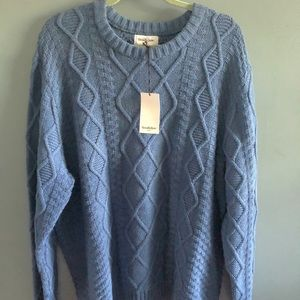 NWT! Goodfellow & Co. Cozy Cable Knit Sweater, XL